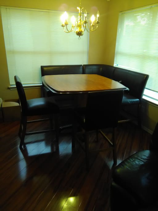 Booth Style Kitchen Table