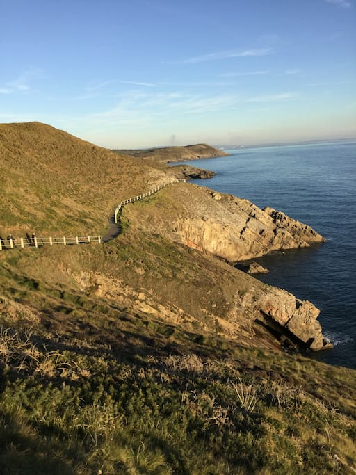 CLIFF COASTAL WALKS FROM                            BACK GATE              Grade:   Easy/ Moderate
