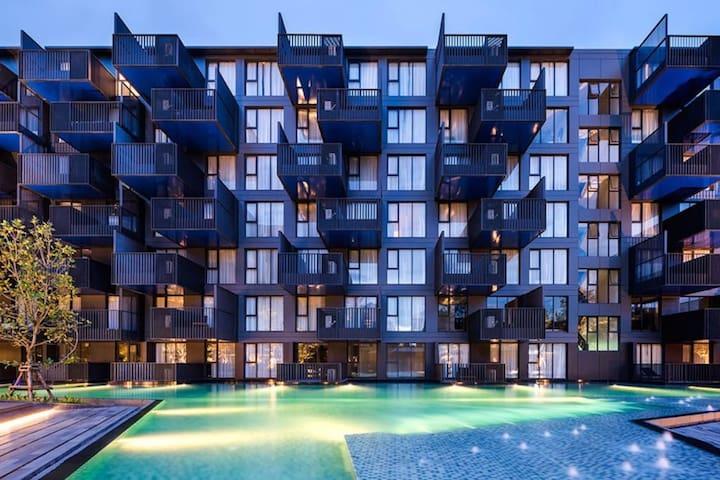 B13/1Heart of Patong luxury 45㎡ condo