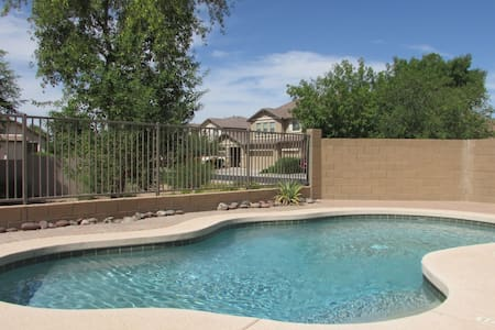 4BR Gated South Phoenix Home, Pool Heater, Near South Mtn Preserve
