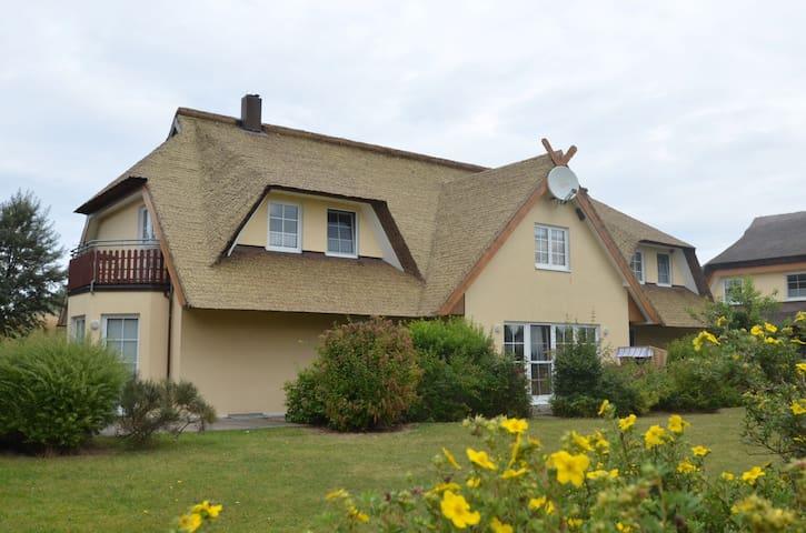 Reedhaus - Boddenblick - Middelhagen
