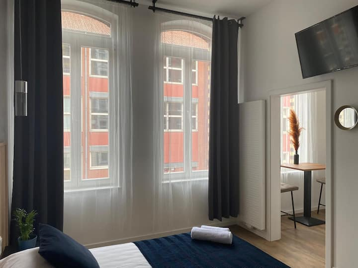 Stadtzentrum professionelles Apartment Langzeit