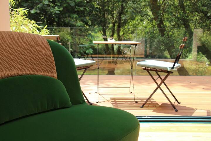 Moinho do Ázere - Quarto verde - Couto - Villa