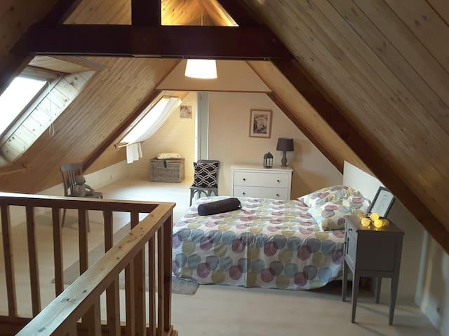 Maison tout confort 8mn de la plage - Coatréven - House