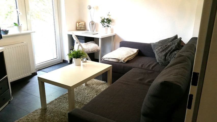Kleine aber feine 1-Zimmerwohnung mit Balkon :) - Hamburg - Wohnung