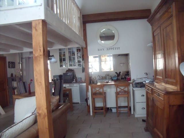 """Maison """"Un petit chez soi""""SPA 20 mn de La Rochelle"""