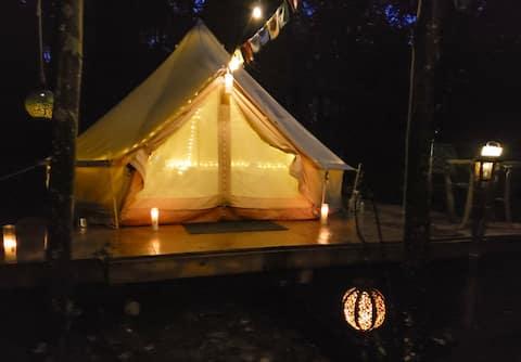 Δ Scenic Hiking Paradise! Relaxing Glamping Tent!!
