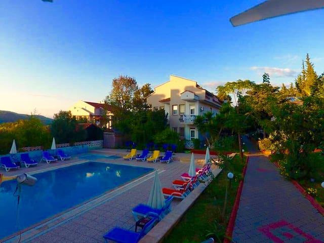 Yunus Hotel Oludeniz double kahvaltılı