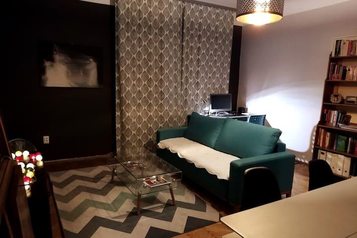 Room for two in center of Krakow