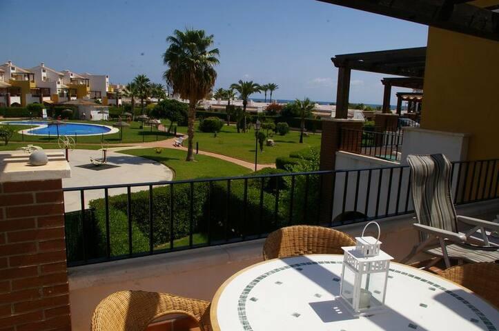 RA320 Apartamento en Vera, primera linea de playa - Vera - Apartment