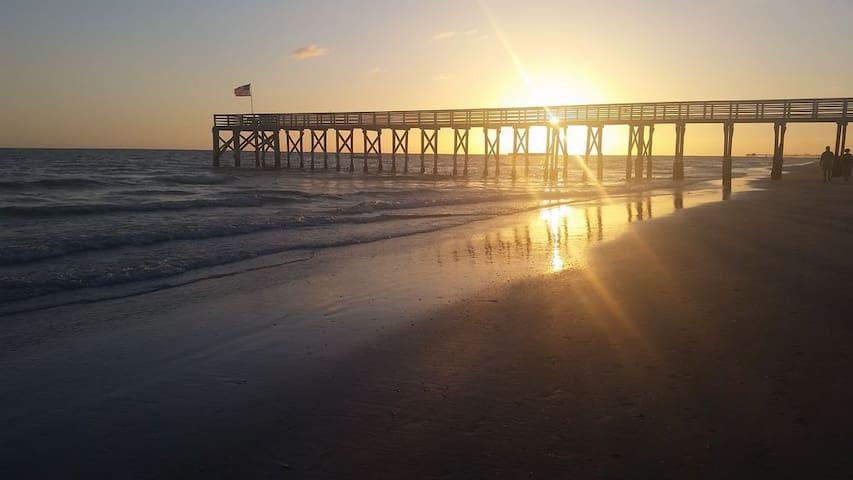 Reddington Beach for a short walk