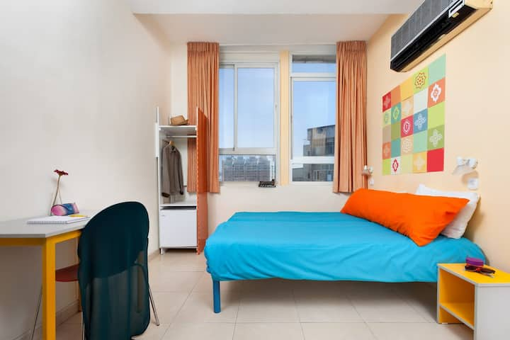 Private Double Room in Abraham Hostel Jerusalem