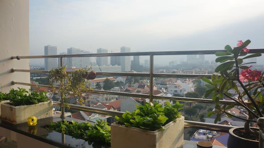 The apartment in Phu My Hung with nice view - Phú Mỹ Hưng