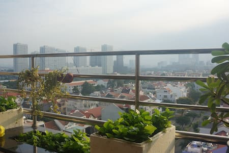 The apartment in Phu My Hung with nice view - Phú Mỹ Hưng - Huoneisto