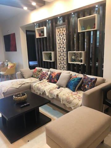cozy nest 3 bedroom fully furnished appt