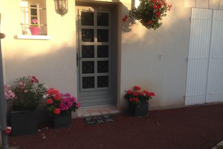 Chambre avec SDB privative dans maison avec jardin - Saint-Cyr-sur-Loire