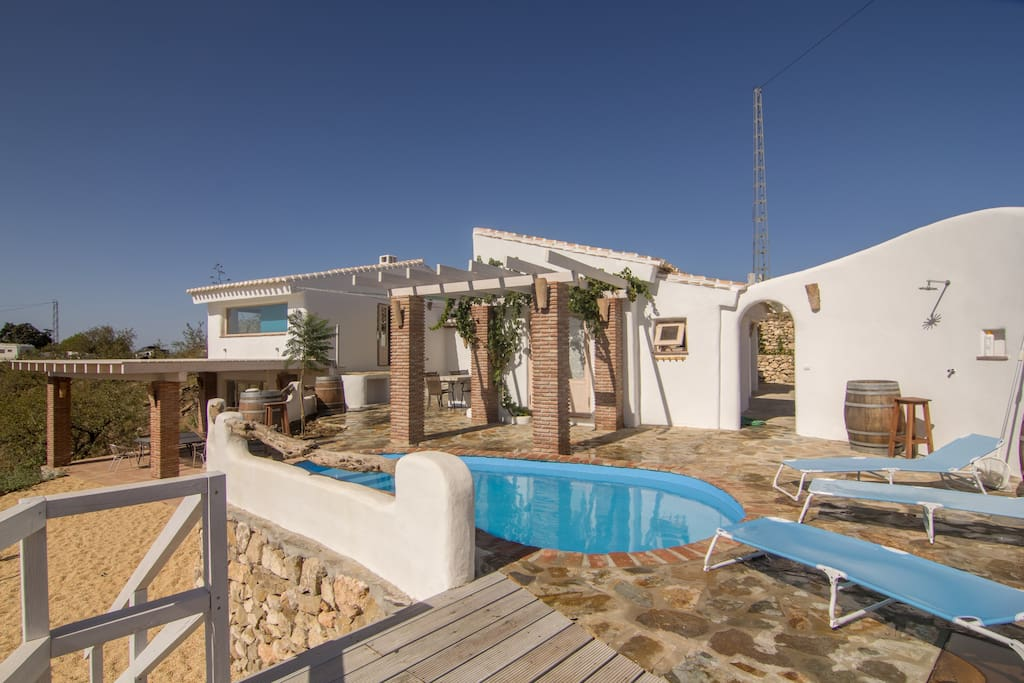 A traditional yet modern rural house with sea view - Sofas velez malaga ...