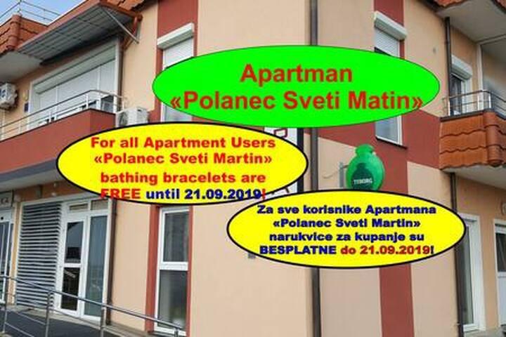 """Apartman """"Polanec Sveti Martin"""""""