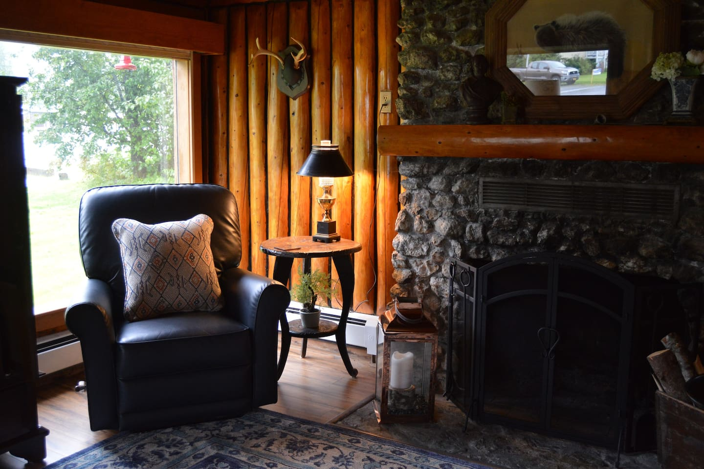 Stay in the quintessential, historic Alaskan home.