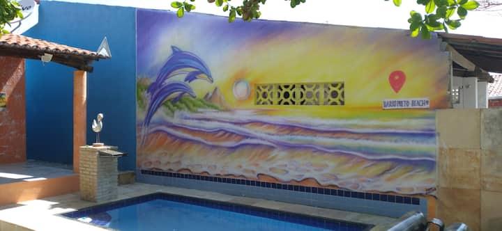 Casa na Praia do Barro Preto/Iguape. Aquiraz-CE.