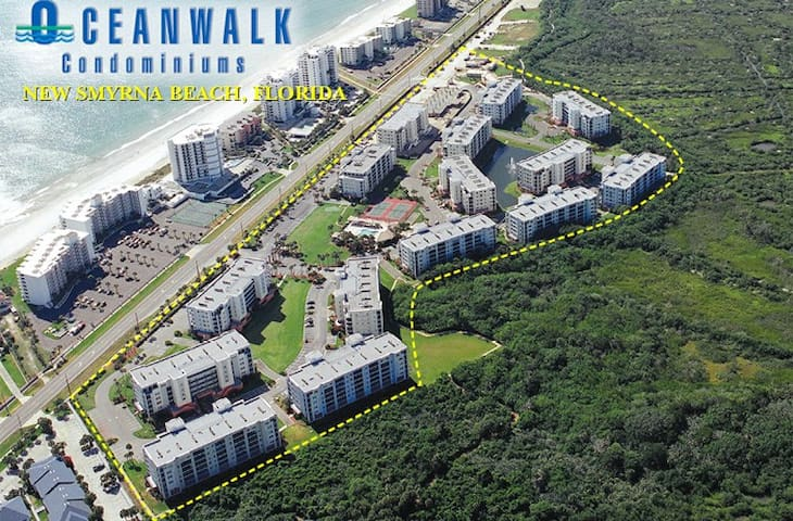 Ocean Walk - New Smyrna Beach - Kondominium