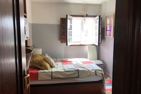 Habitación soleada y acogedora