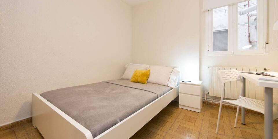 Habitación individual en San Fermín