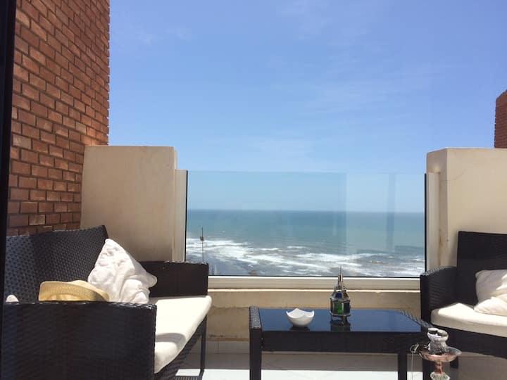 bel appartement tout confort vue exceptionnelle