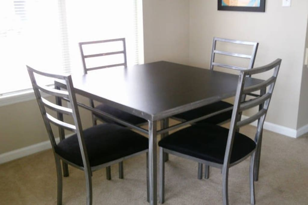 Dining Room to accommodate four people.