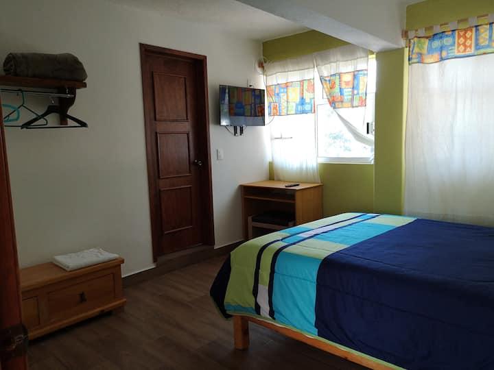 Cuajimalpa. Cálida habitación privada