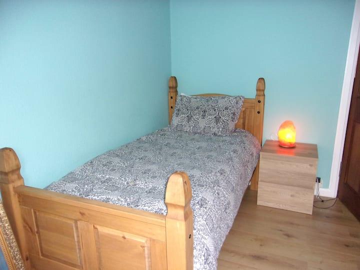 Idyllic and sunny room