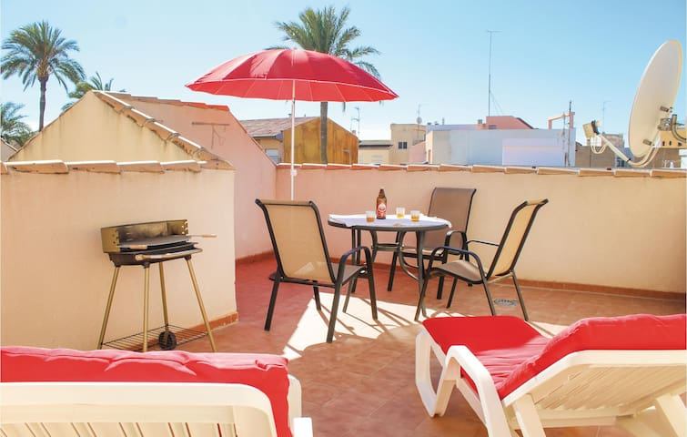 Holiday apartment with 2 bedrooms on 75m² in Los Alcazares