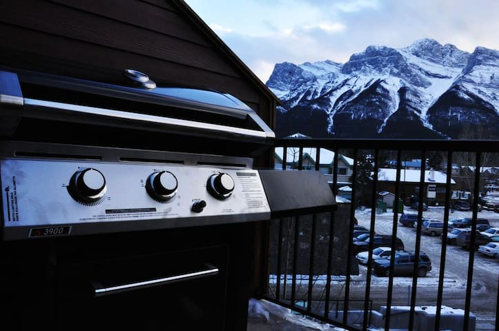 BBQ & View from Deck