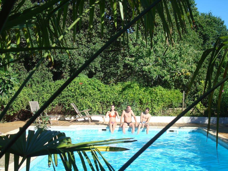 Authentic cottage zen park 1ha landes d 39 armagnac g tes - Piscine tropicale france ...