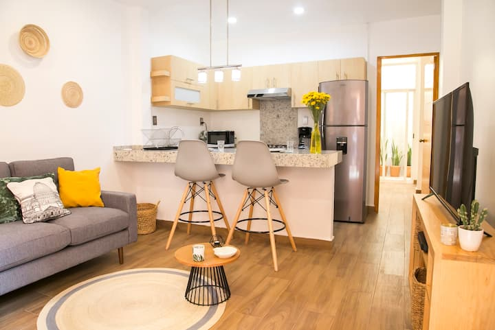 Lovely apartment in the center of Condesa
