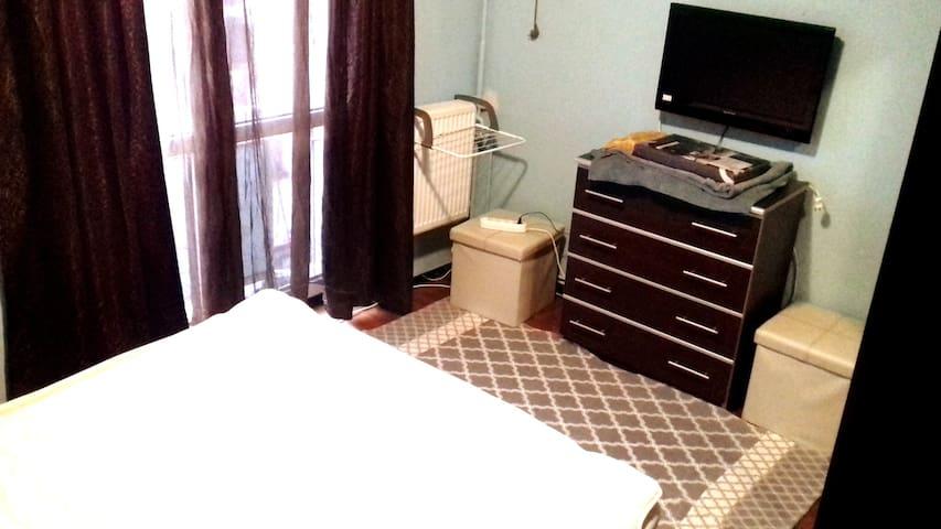 Bedroom & TV