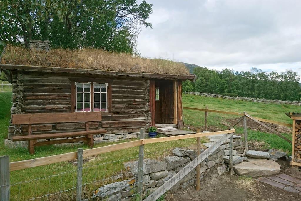 Charming old log cabin with a great view alloggi nella for Piani di log cabin lodge