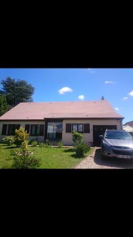 Maison/jardin proche grands axes - Chaufour-lès-Bonnières - บ้าน