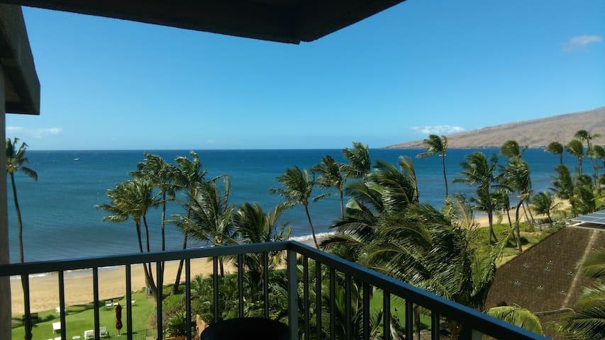 Top Floor Beachfront Condo with Ocean view