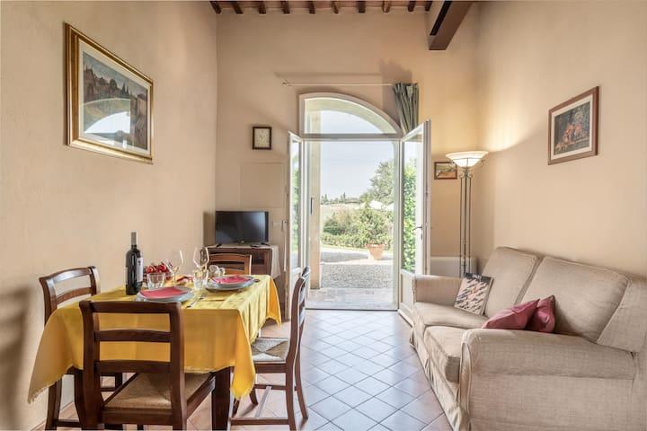 """Apartment in historic Villa in Siena_""""GLI ARCHI"""""""