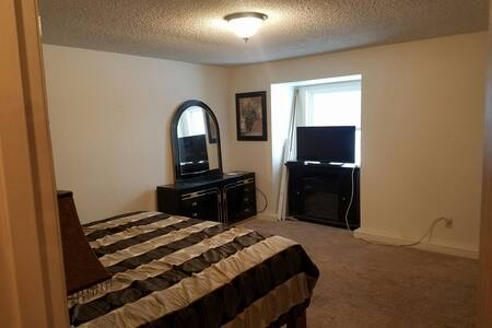 Master bedroom with private bath - Soldotna
