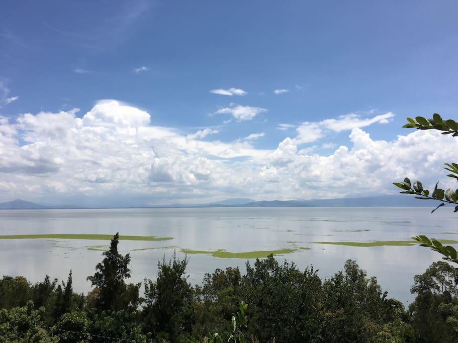 Cerca del Lago de Chapala