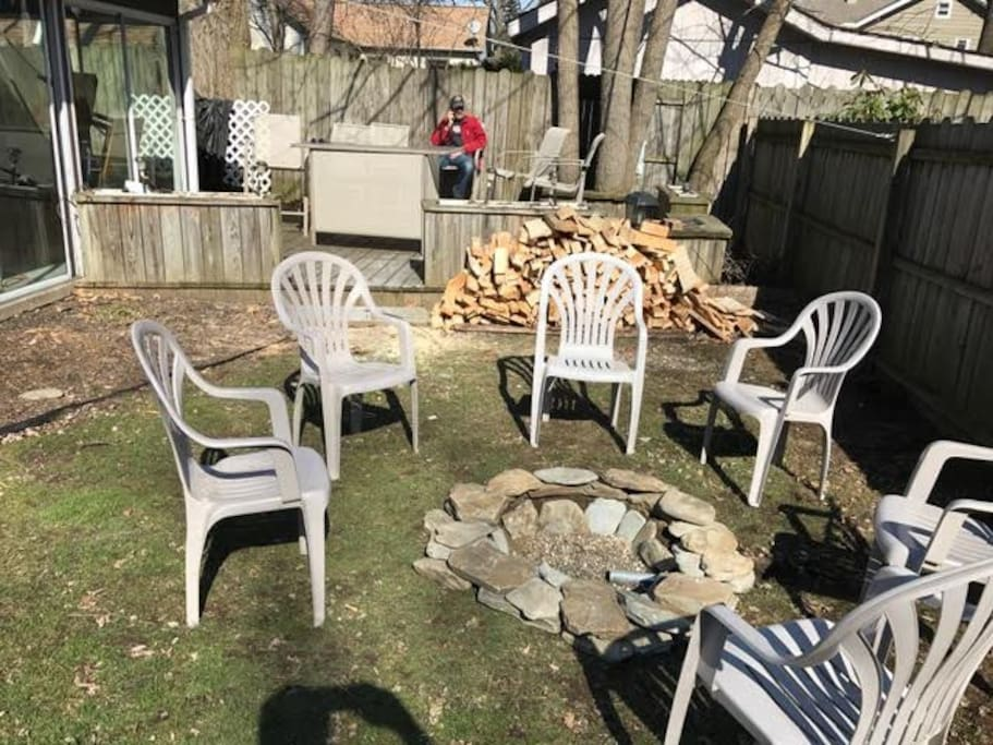 New fire pit for your relaxation
