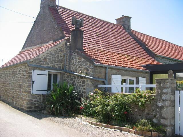 Maison de pêcheur jardin vue mer. - Gatteville-le-Phare - บ้าน