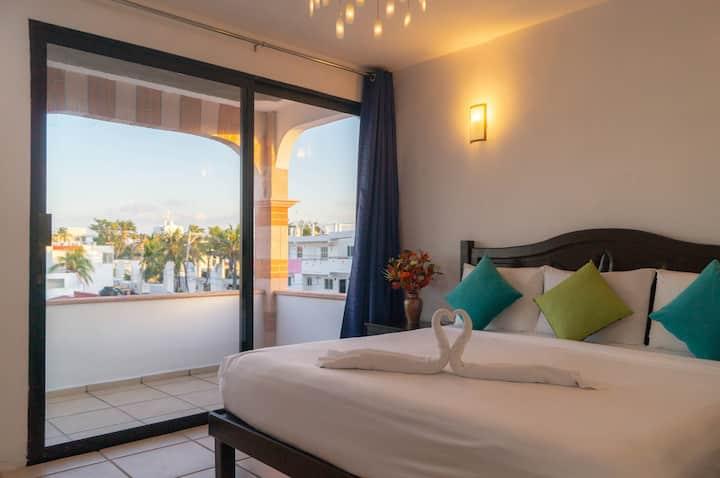 #18 Hotel Sueño Maya, balcony Ocean view