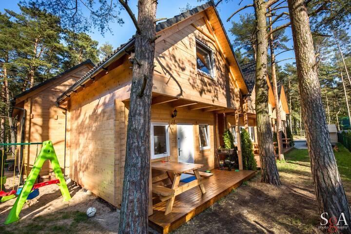Dom z drewna litego - Pobierowo - House