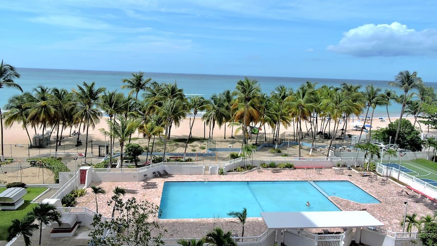 Your Oceanfront Dream Apartment Isla Verde Beach!! - Carolina - Apartment
