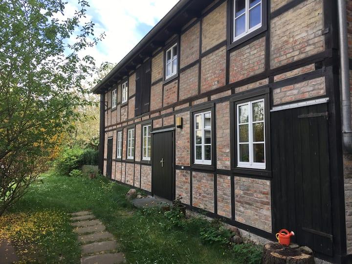 Fachwerkhaus in Citylage mit Garten