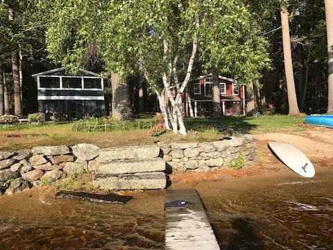 The Green House on Lake Monomonac, Sleeps 9-13