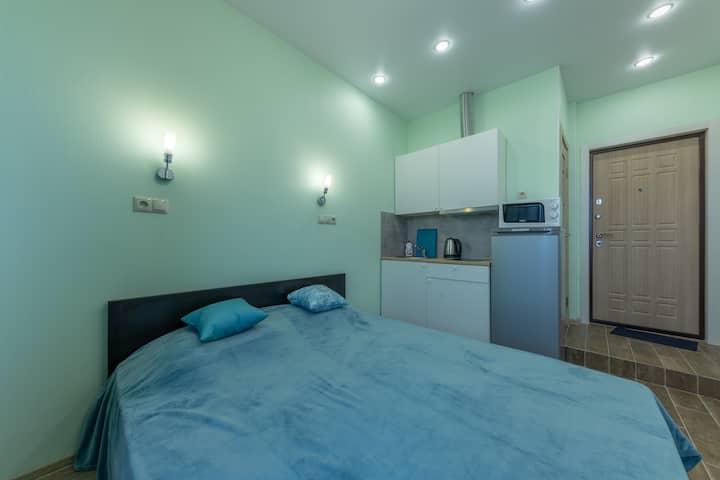 InHome24 Уютная студия в ЖК Солнцево Парк